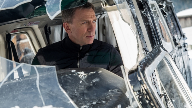 Daniel Craig stars as James Bond in the action film